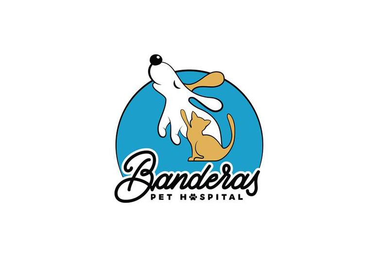 Banderas Pet Hospital logo