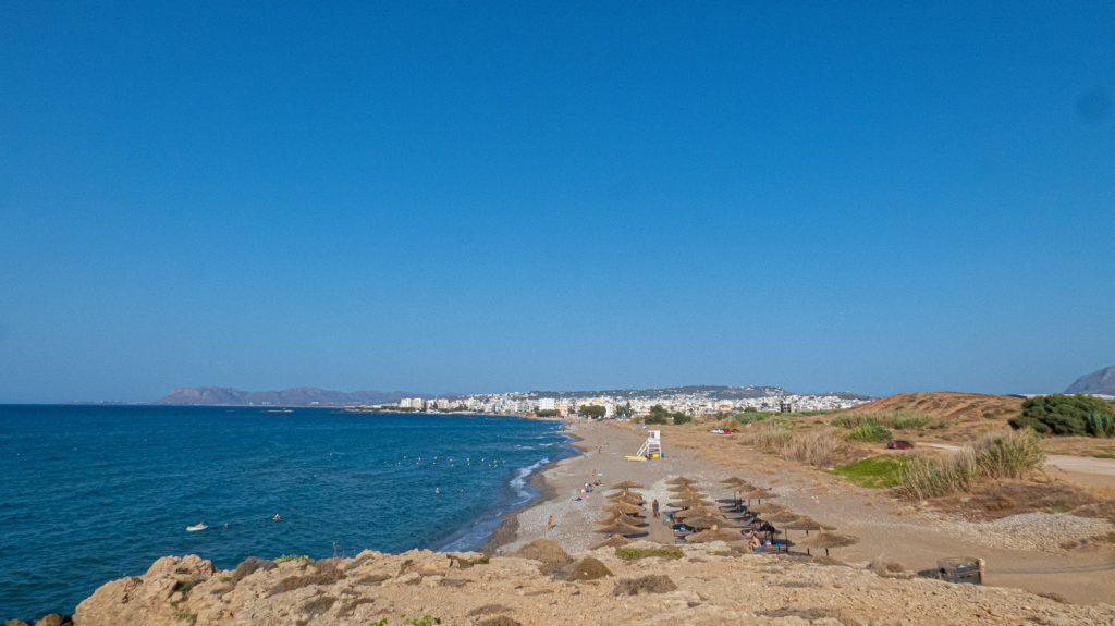 plaja langa Chania